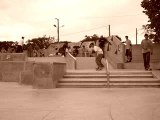 Fs tail slide 180 out