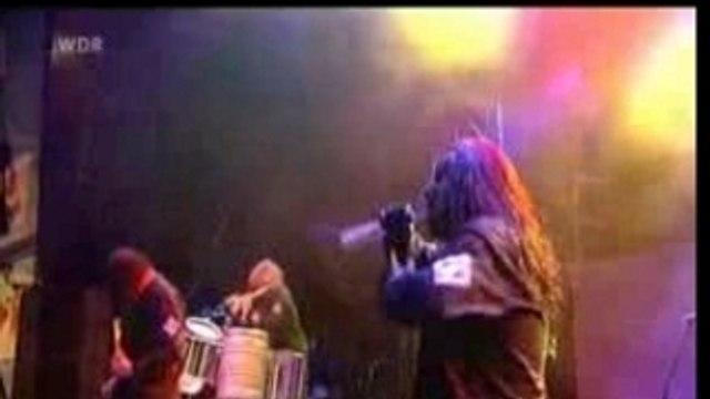 Slipknot Vermillion et Joeys Drums solo Rock Am Ring 2005