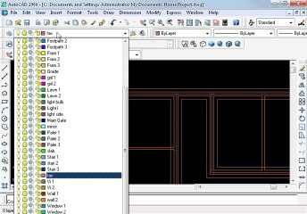 Khan Plaza in AutoCAD Part 10 oh