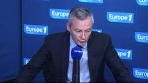"""Bruno Le Maire: """"Valls s'est métamorphosé en François Hollande"""""""