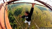Compilation de cascades et équilibres à très haute altitude : vertige garanti!