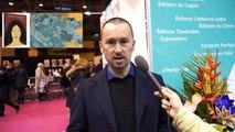 Rencontre avec Patrice CABLAT au Salon du livre de Paris avec le ministère des Outre-mer