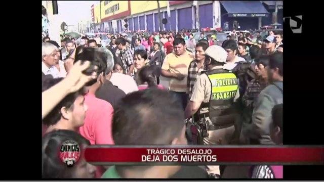 Trágico desalojo: intervención en galería 'El Huequito' dejó dos muertos