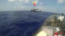 Canale di Sicilia - Immigrazione, più di mille persone soccorse in mare (08.04.14)