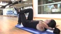 Rutina de ejercicios gluteos y abdominales