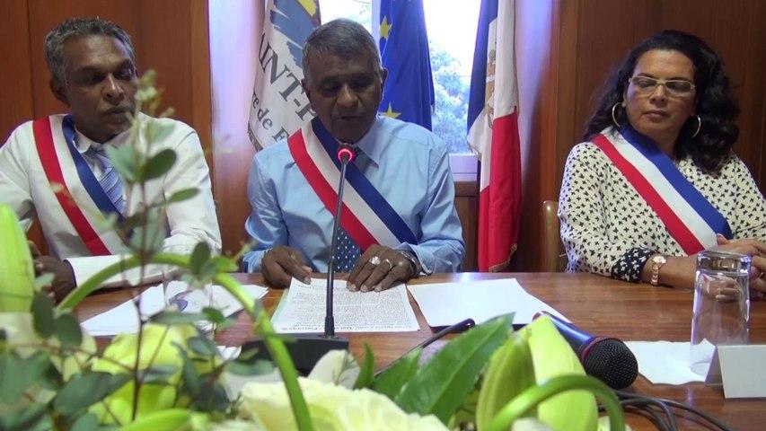 Investiture Joseph Sinimalé 6 avril 2014