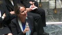 Ségolène Royal répond à la QAG de O. Saugues au sujet de la loi sur la transition énergétique