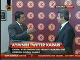 Röportaj: AKParti Grup Başkan Vekili ve Adıyaman Milletvekili Ahmet AYDIN, (AYM)'nin Twıtter Kararı, Cumhurbaşkanlığı Seçimi