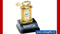 STEEL TABLE CLOCKS AND DECISION MAKERS - Creative Corporate Promotional Gift Items by Idea Gifts.