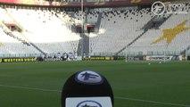 Les Lyonnais découvrent le Juventus Stadium