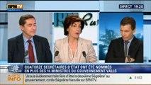 Thierry Arnaud et Laurent Neumann: le face à face de Ruth Elkrief - 09/04