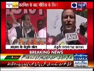Muslims won Kargil for India, not Hindus: Indian Samajwadi Party leader Azam Khan
