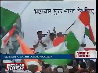Arvind Kejriwal a Maverick face to politics