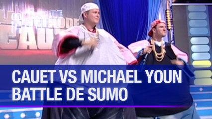 Cauet et Michaël Youn font une battle de sumo - La Méthode Cauet
