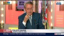 Philippe Marini, président de la Commission des Finances du Sénat et sénateur UMP de l'Oise, dans Le Grand Journal - 10/04 4/5