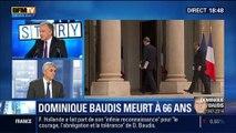 BFM Story: Dominique Baudis, le défenseur des droits et ancien maire de Toulouse est mort à l'âge de 66 ans - 10/04