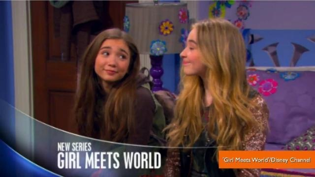 First Look at Cory and Topanga in 'Girl Meets World'