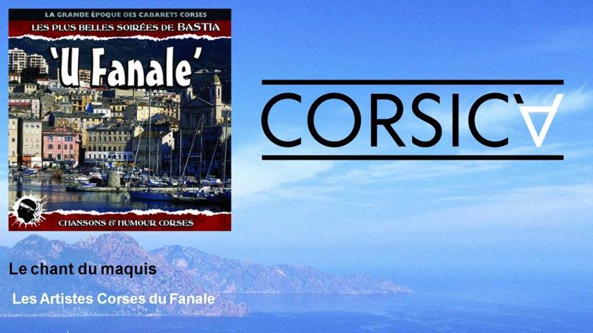 Les Artistes Corses du Fanale - Le chant du maquis