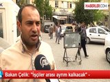 """Taşeron İşçi Son Dakika Haberleri! Bakan Çelik: """"Taşeron işçilerin asıl işçiler gibi hakları olacak!"""" (10.04.2014)"""