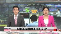 Korean stocks, currency gain despite drop in China exports (2)