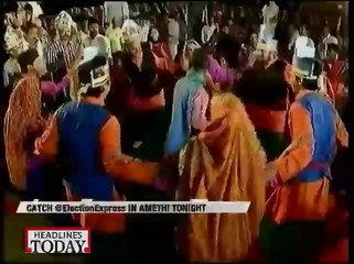 Elections Express would at Amethi Tonight