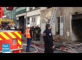 Incendie rue R.Poincaré à Troyes
