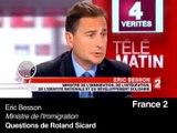 """Bayrou: """"Les Roms sont ciblés pour des raisons électorales"""""""