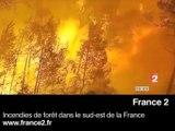 Zapping: départ d'Irak, incendies en France et Kadhafi en Italie