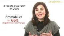 Les français plus riches en 2010