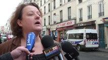 Reportage - Incendie dans le quartier Ménilmontant