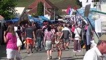 Ambiance au Festival de fanfares de Guca