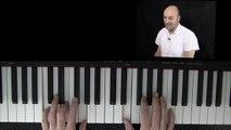 Klavier lernen - leise rieselt der Schnee am Klavier lernen - Klavier lernen für Anfänger