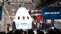 Elon Musk Unveils The SpaceX Dragon V2 Spacecraft