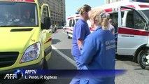 Incendie dans le métro à Moscou, 4500 personnes évacuées