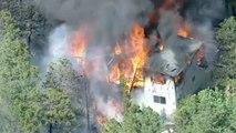 """Etats-Unis:des incendies """"hors de contrôle"""""""
