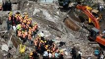 Inde: environ 70 disparus dans l'éffondrement d'un immeuble