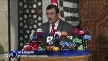 """Le Premier ministre tunisien s'est engagé sur le """"principe"""" d'une démission du gouvernement"""