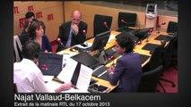 Najat Vallaud-Belkacem condamne les insultes contre Marion Maréchal-Le Pen