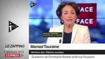 """Travail du dimanche: pour Marisol Touraine, le repos dominical doit rester """"le principe de base"""""""