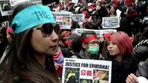 Hong-Kong: les domestiques dans les rues dénoncent les maltraitances