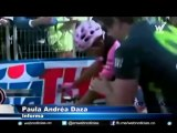 Nairo Quintana ganó a cronoescalada del día en el Giro de Italia