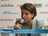 Vallaud-Belkacem-21ème Salon des Entrepreneurs de Paris