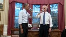 USA: Barack Obama et Joe Biden donnent de leur personne pour la campagne anti-obésité de Michelle Obama