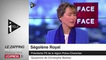 """""""Affaire Copé"""": """"Des règlements de comptes entre amis à l'UMP"""", pour Ségolène Royal"""