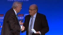 FOOTBALL: FIFA World Cup: Sepp Blatter