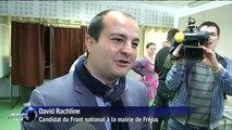 Municipales: les candidats FN à Marseille et Fréjus se rendent aux urnes