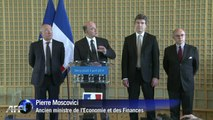 """Pierre Moscovici a des """"ambitions européennes"""""""