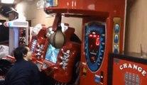 Drôle de machine Guys Vs Arcade boxe sac de boxe