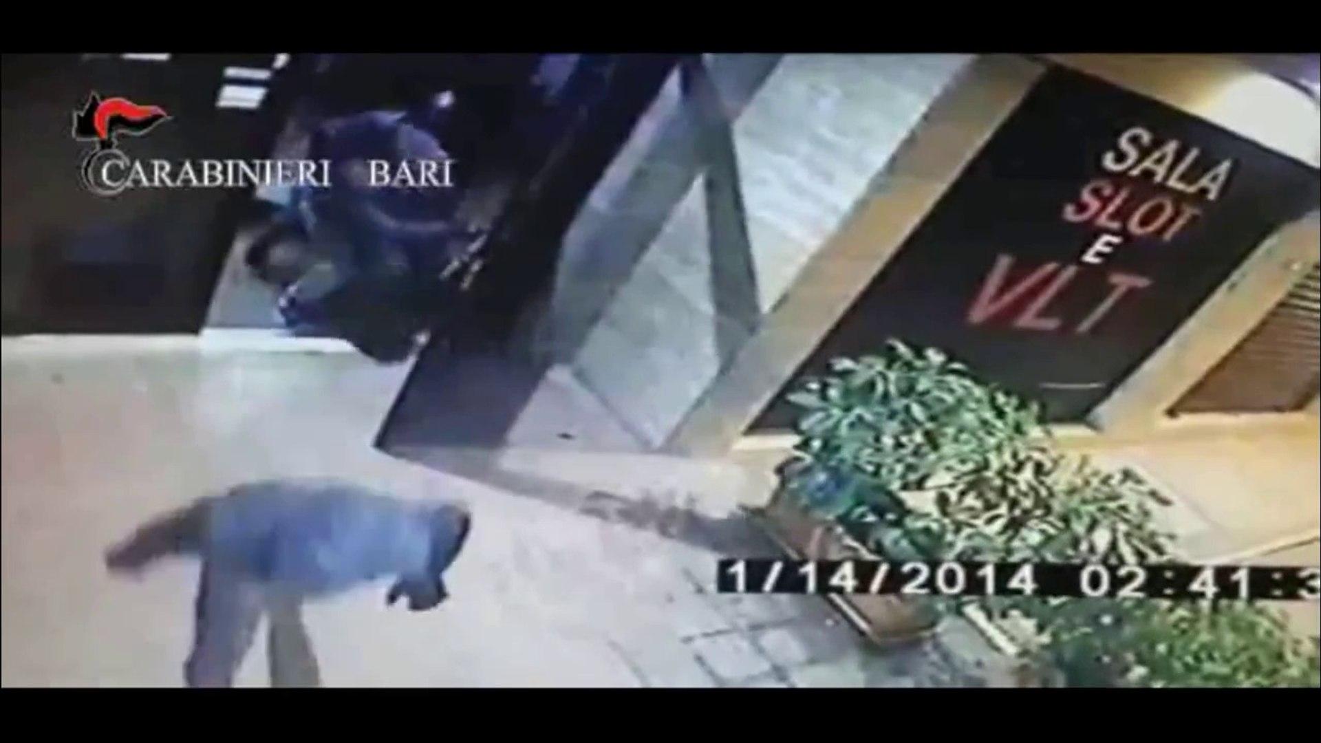 Trani (BAT) - Rapina in una sala slot (29.05.14)