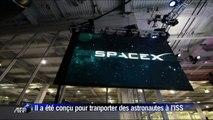 SpaceX: nouveau vaisseau pour transporter des astronautes à l'ISS